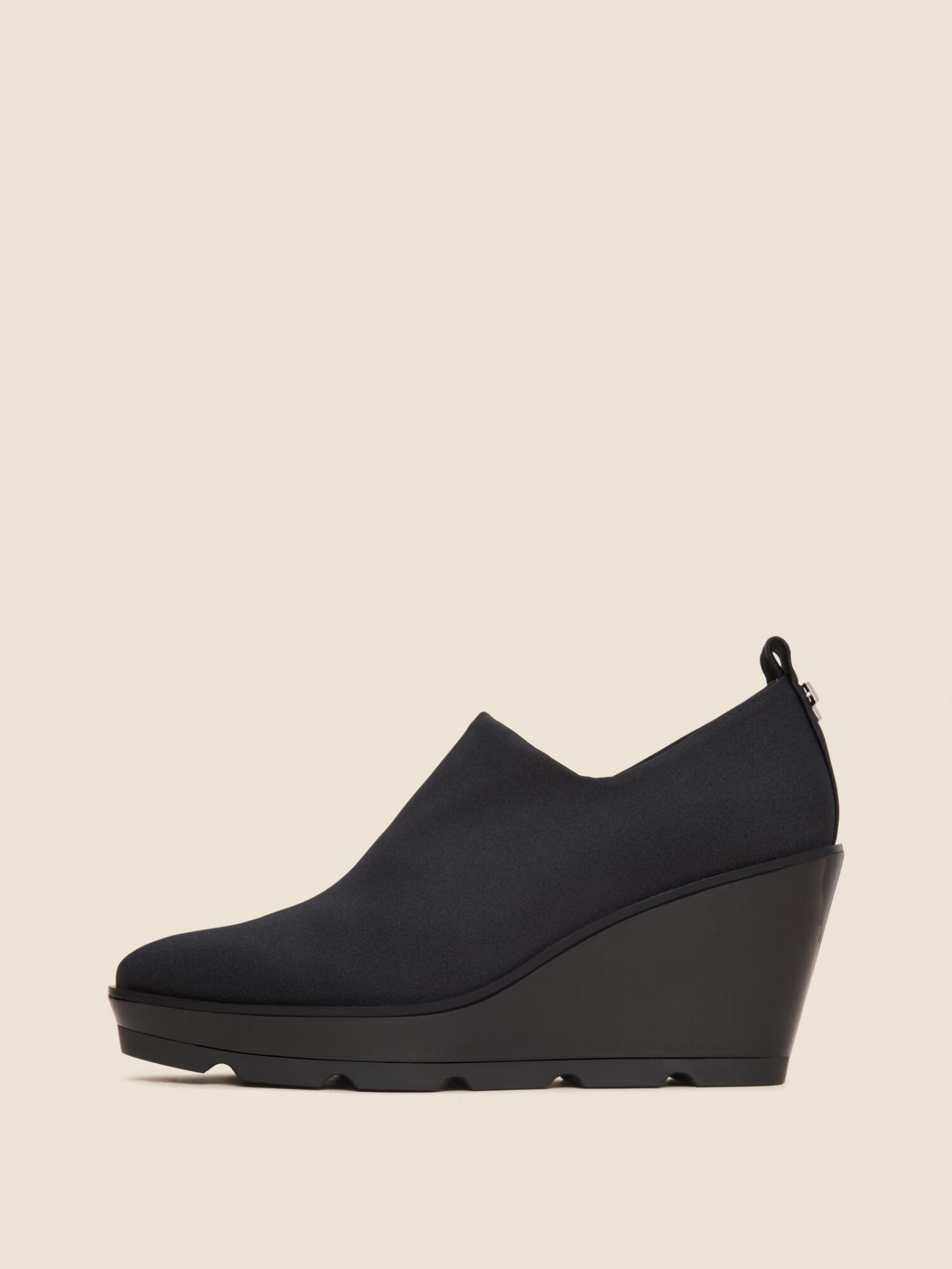 64e5661248c Donna Karan Zee Slip-On Wedge Sneaker In Black