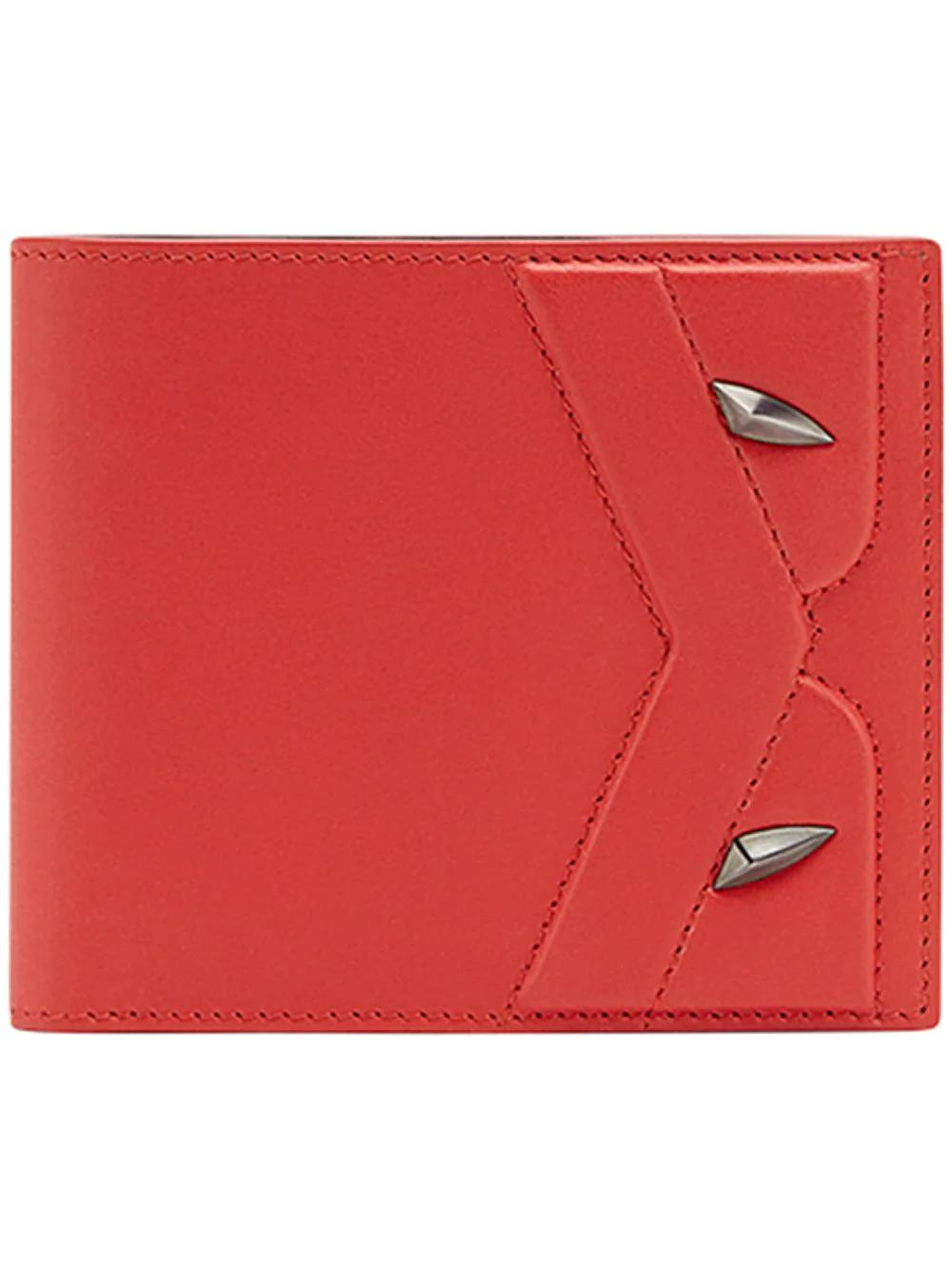 d291aede010b Fendi Bifold Bag Bugs Wallet - Red