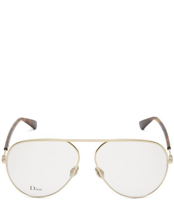 1b97bdddd5 Dior Essence 15 Aviator Optical Glasses In Gold