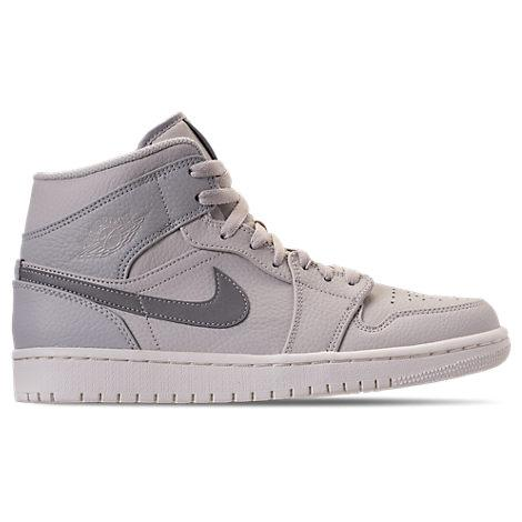 competitive price a2c8e b0c5e Nike Men s Air Jordan Retro 1 Mid Premium Basketball Shoes, Grey