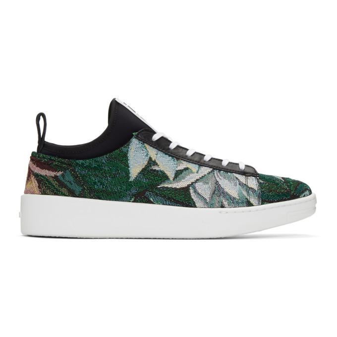 33c2a890b Kenzo Green Memento K-City Sneakers In 53 Pine | ModeSens