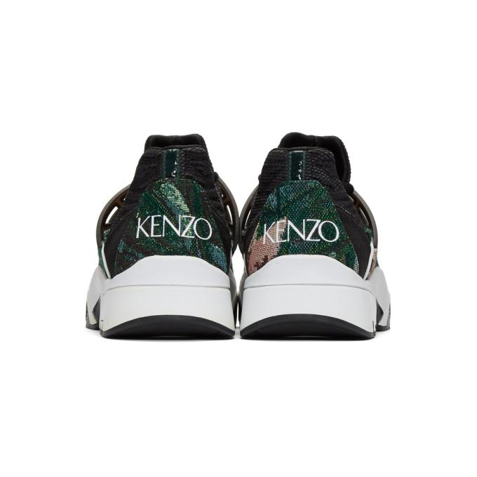 a1662a34e Kenzo Green Memento Sonic Sneakers In 53 Pine | ModeSens