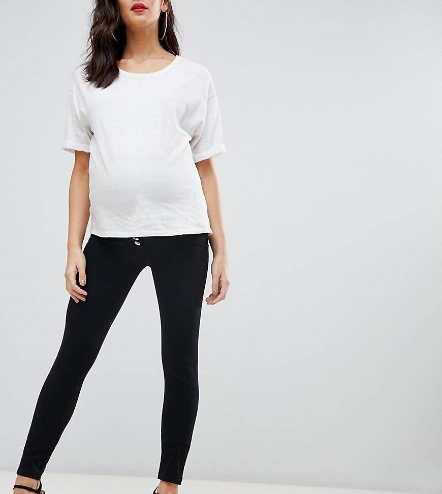 a7b97e9694871 Freddy Jeans Maternity Shaping Skinny Jean - Black | ModeSens