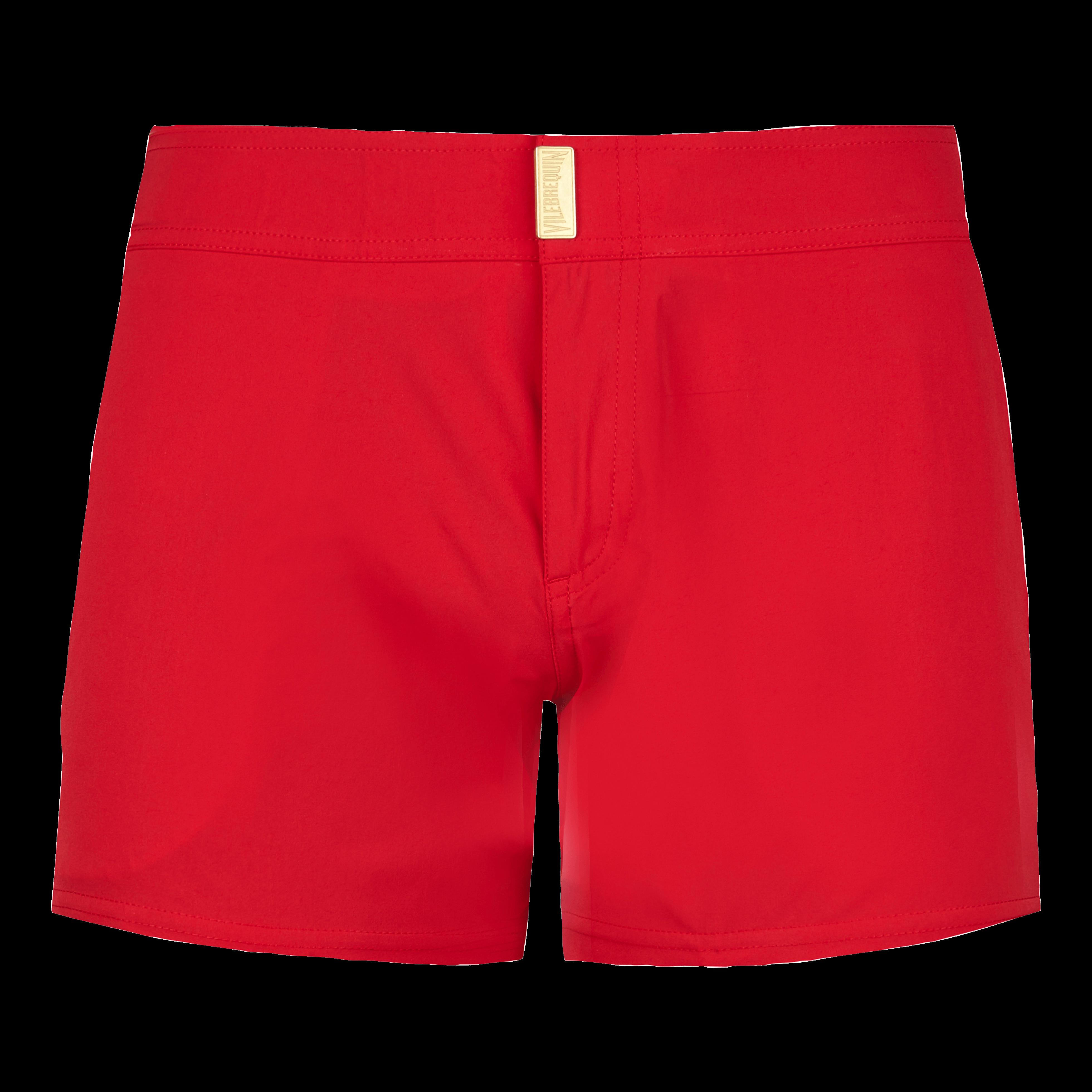 ff6188b84b804 Vilebrequin Men Swimwear - Men Flat Belt Stretch Swimtrunks Tuxedo -  Swimtrunks - Midnight In Red