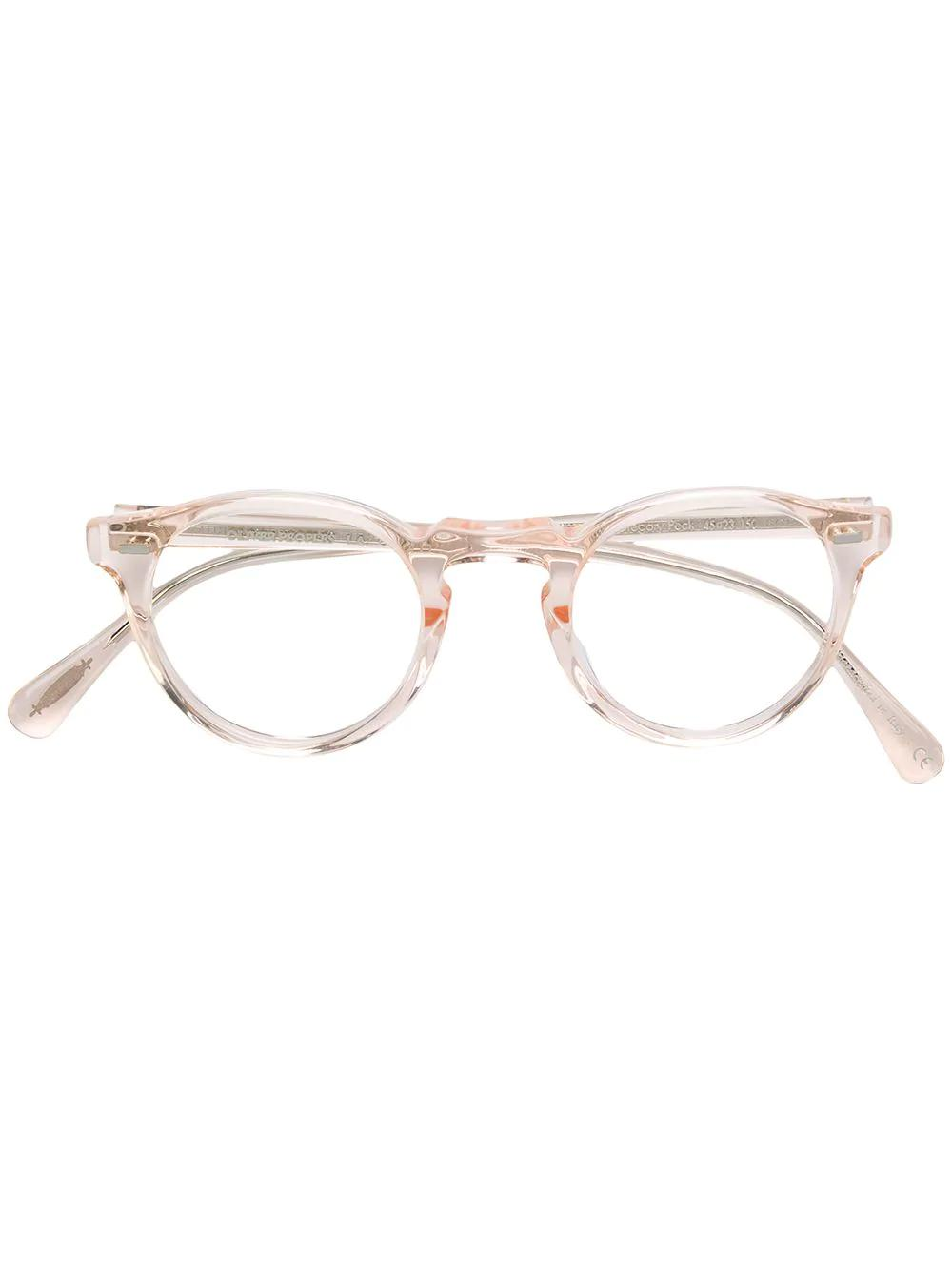 1491c09e7e Oliver Peoples Gregory Peck Glasses - Neutrals