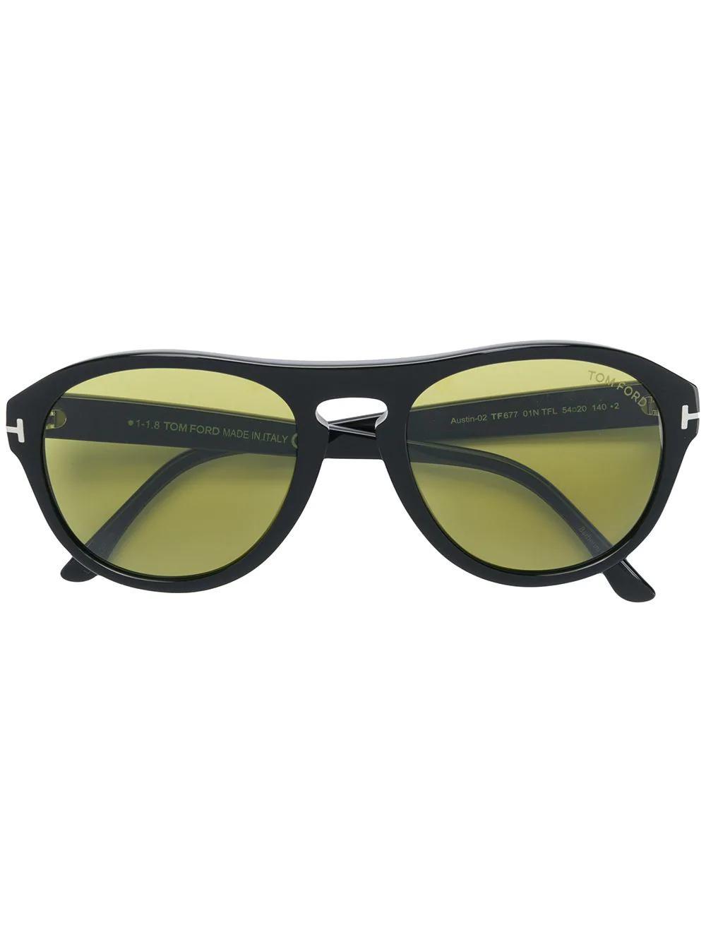 8502d67ebf81 Tom Ford Eyewear Austin Sunglasses - Black | ModeSens