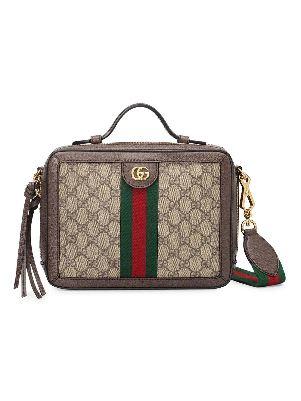 226f086fa83 Gucci Small Ophidia Gg Supreme Canvas Shoulder Bag - Beige In 8745 Gg Beige