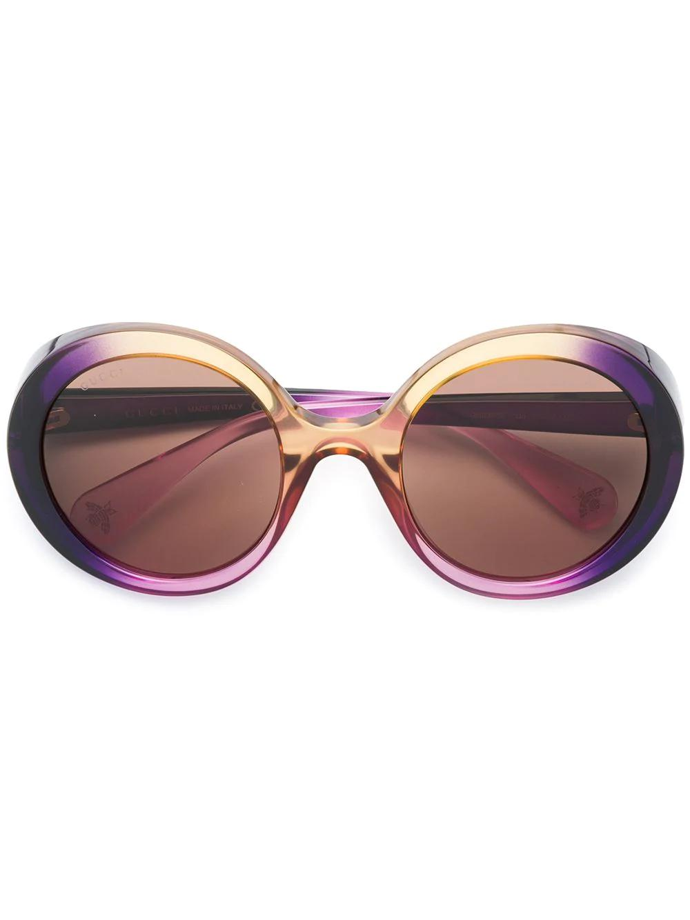 c6015b7a2ded1 Gucci Eyewear Gradient Tinted Sunglasses - Purple