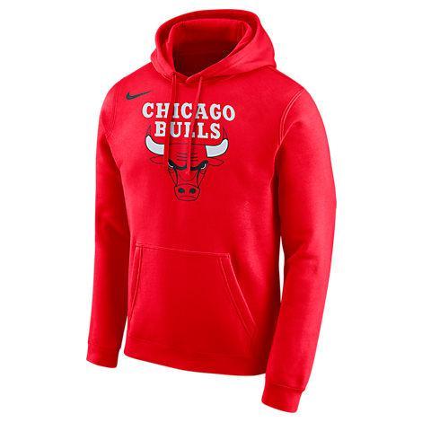 4ac4f632c55b Nike Men s Chicago Bulls Nba City Edition Logo Essential Hoodie