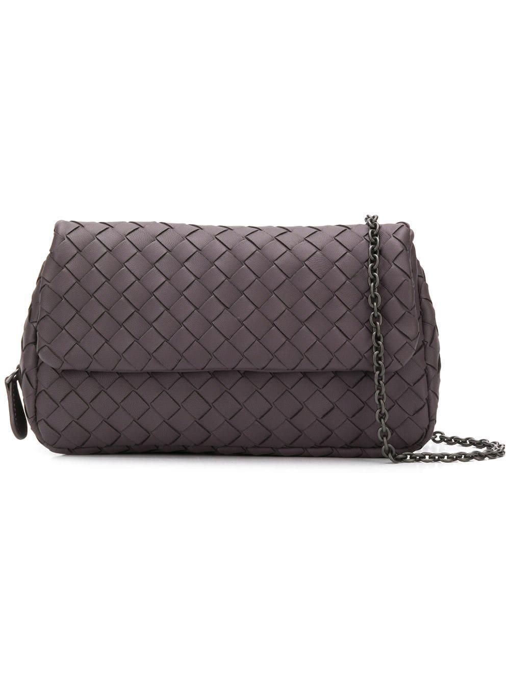0909cd1d7c Bottega Veneta Intrecciato Crossbody Bag - Purple