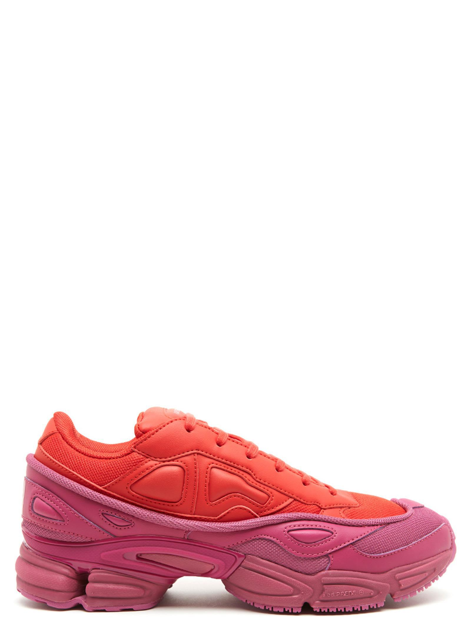 competitive price 0e857 1402b Adidas By Raf Simons Adidas X Raf Simons Mens Ozweego Sneakers In Red