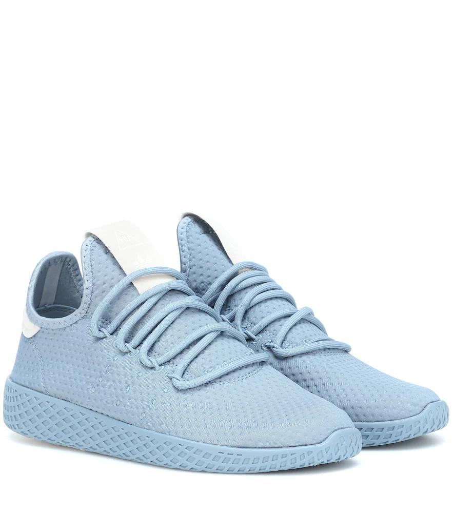 cheaper 5f87d cfdb4 Adidas Originals X Pharrell Williams Tennis Hu Sneakers In Blue