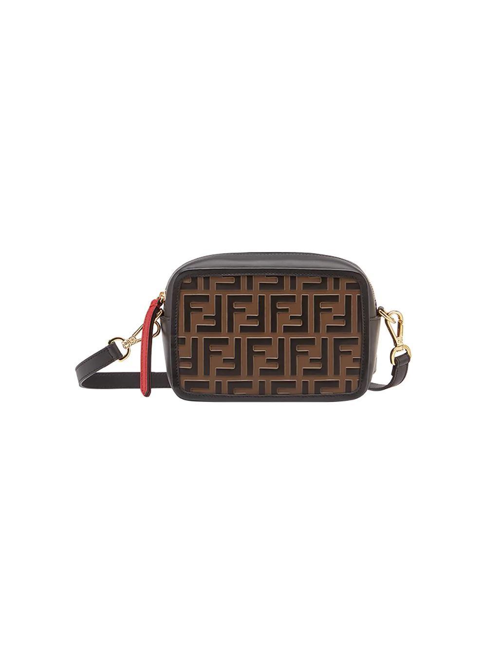 2e251c502f8b Fendi Mini Camera Case Crossbody Bag - Black   ModeSens