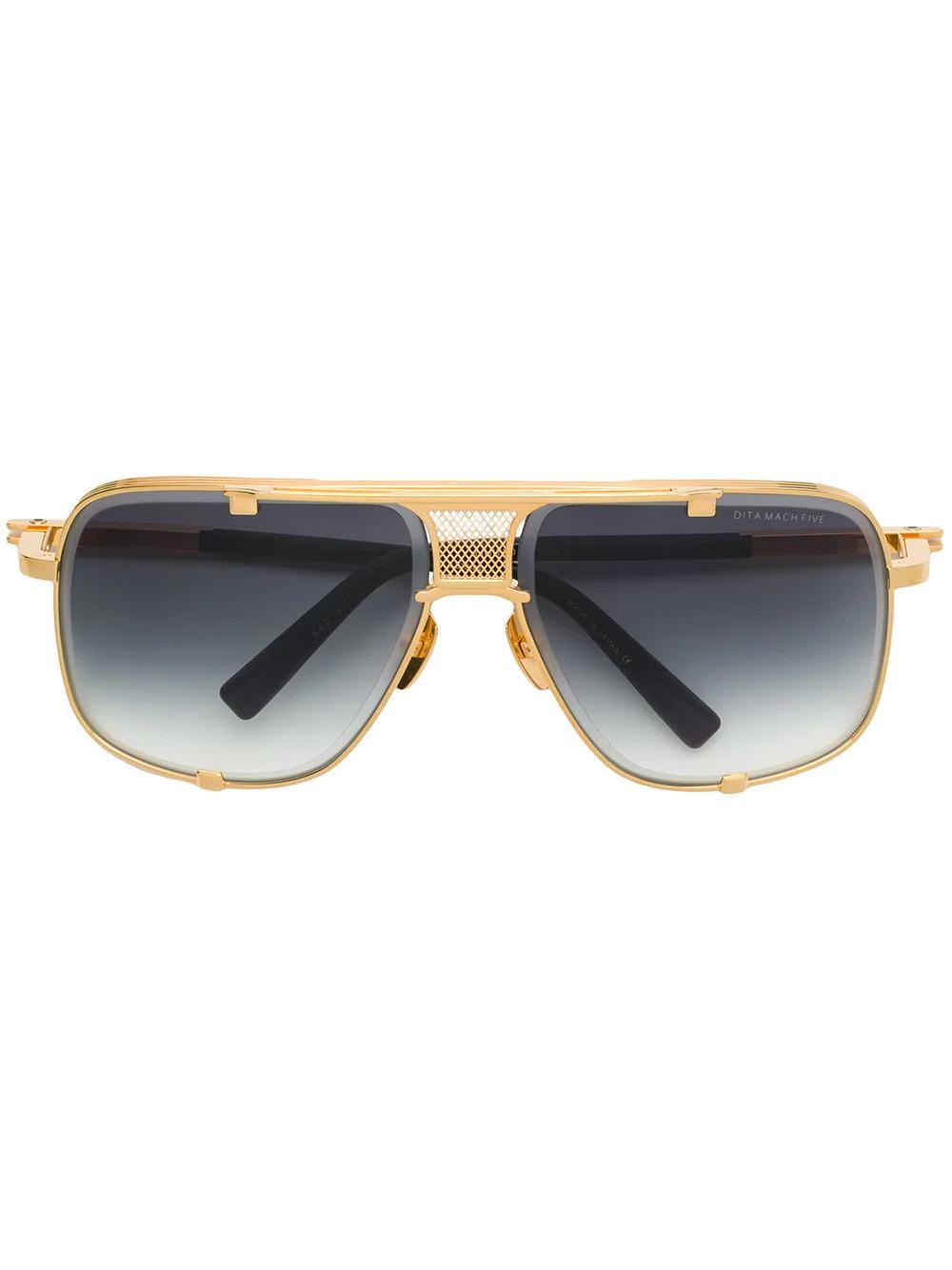 6f6bd10b121 Dita Eyewear Mach Five Sunglasses - Gold