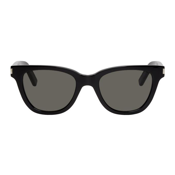 8a075dffbcb7 Saint Laurent Black Small Sl 51 Sunglasses In 001 Black | ModeSens