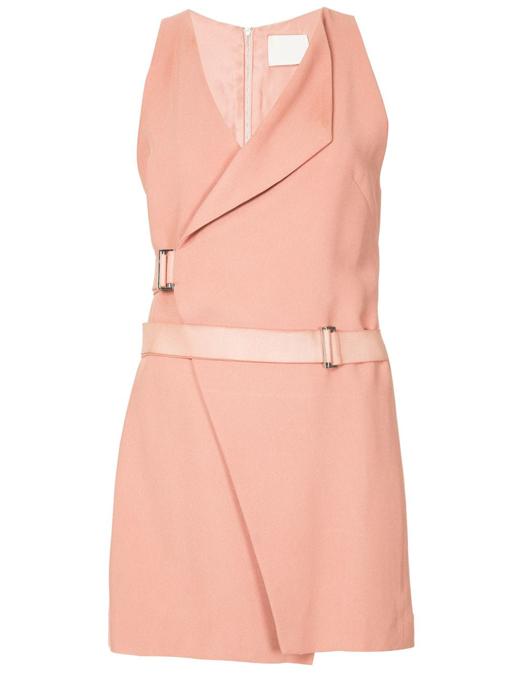 58f78e385ece Dion Lee Holster Mini Wrap Dress - Farfetch In Pink