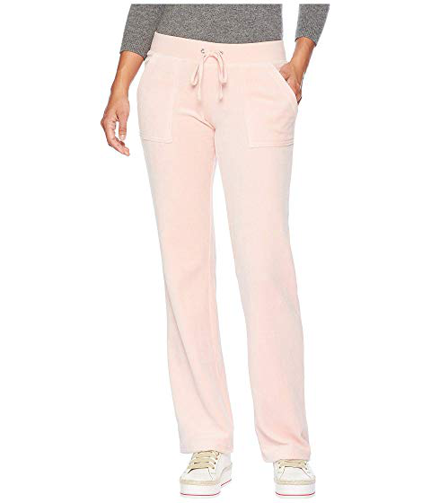 Juicy Couture Track Velour Interwoven Del Rey Pants Sugared Icing Modesens
