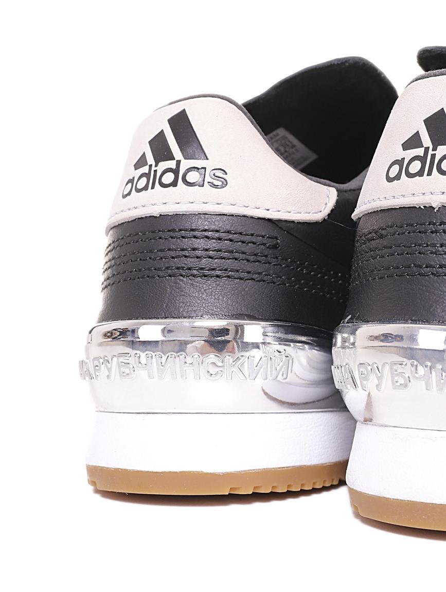 d24a3a38bdc9 Gosha Rubchinskiy Black Adidas Originals Edition Gr Copa Wc Super Sneakers  In Black 1