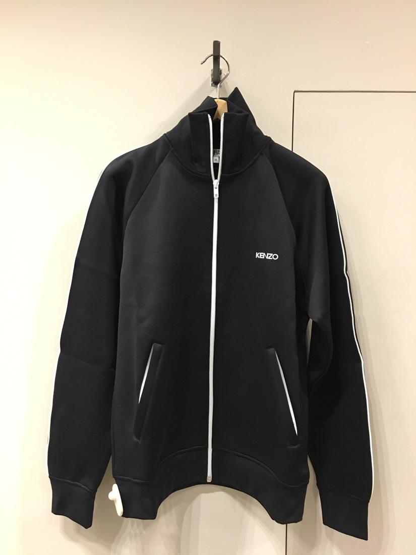 3e593f18eb4d Kenzo Logo Embroidered Zip Sweatshirt In Black | ModeSens