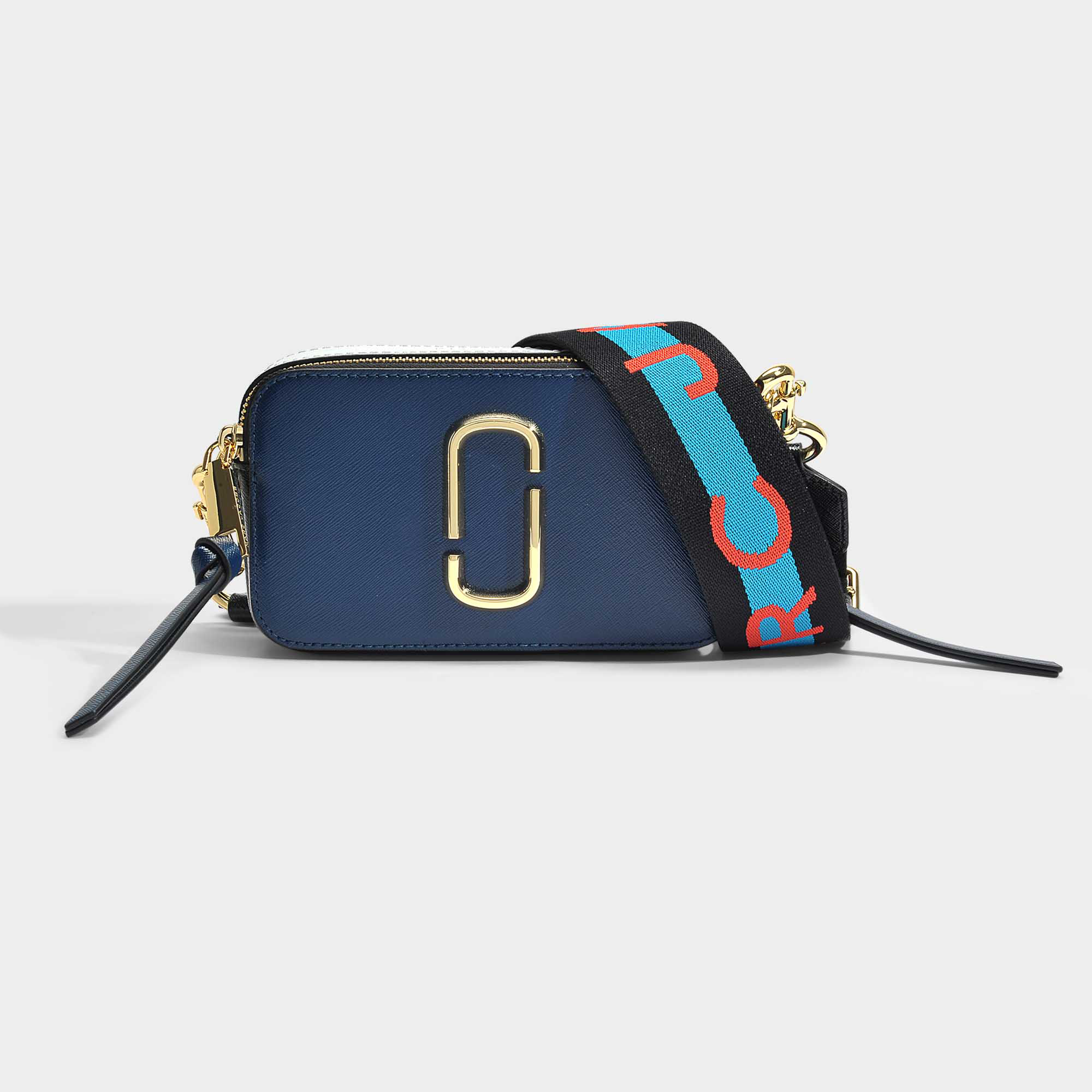 97455f36025 Marc Jacobs   Snapshot Bag In Blue Leather   ModeSens