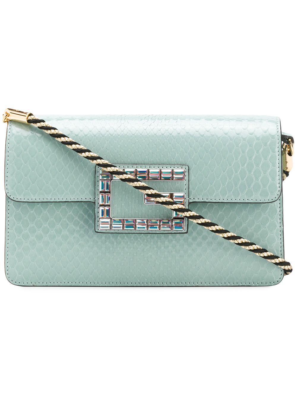 2e24dcad8577 Gucci Square G Shoulder Bag - Green   ModeSens