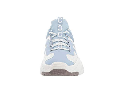 efb306d4a Circus By Sam Edelman Terry Lace-Up Platform Sneakers In Light Blue Multi