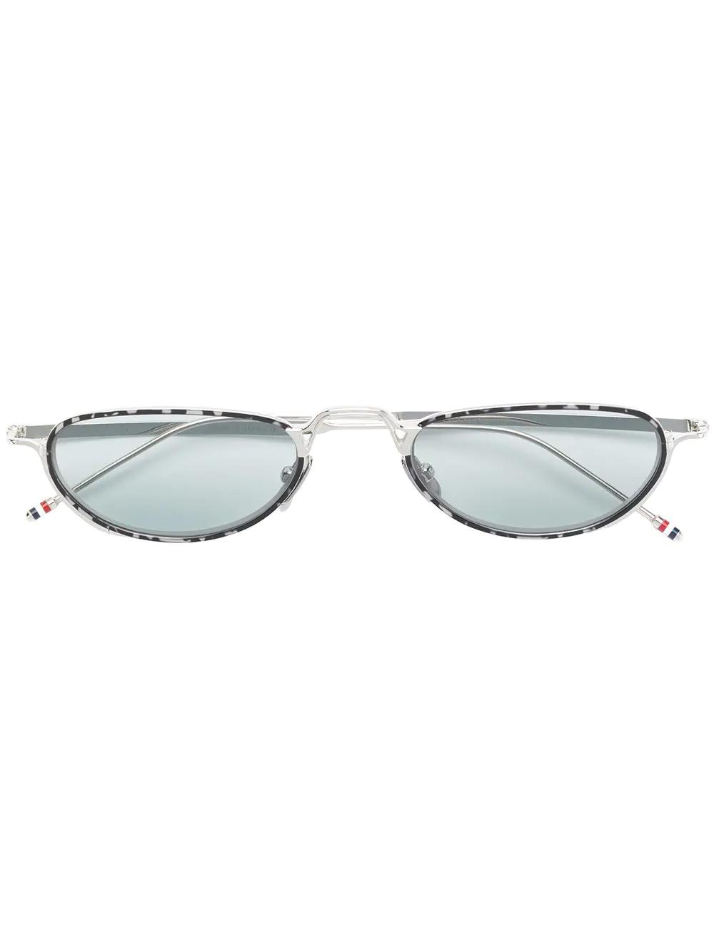 0c9c45969 Thom Browne Eyewear Cat-Eye Tinted Sunglasses - Silver | ModeSens