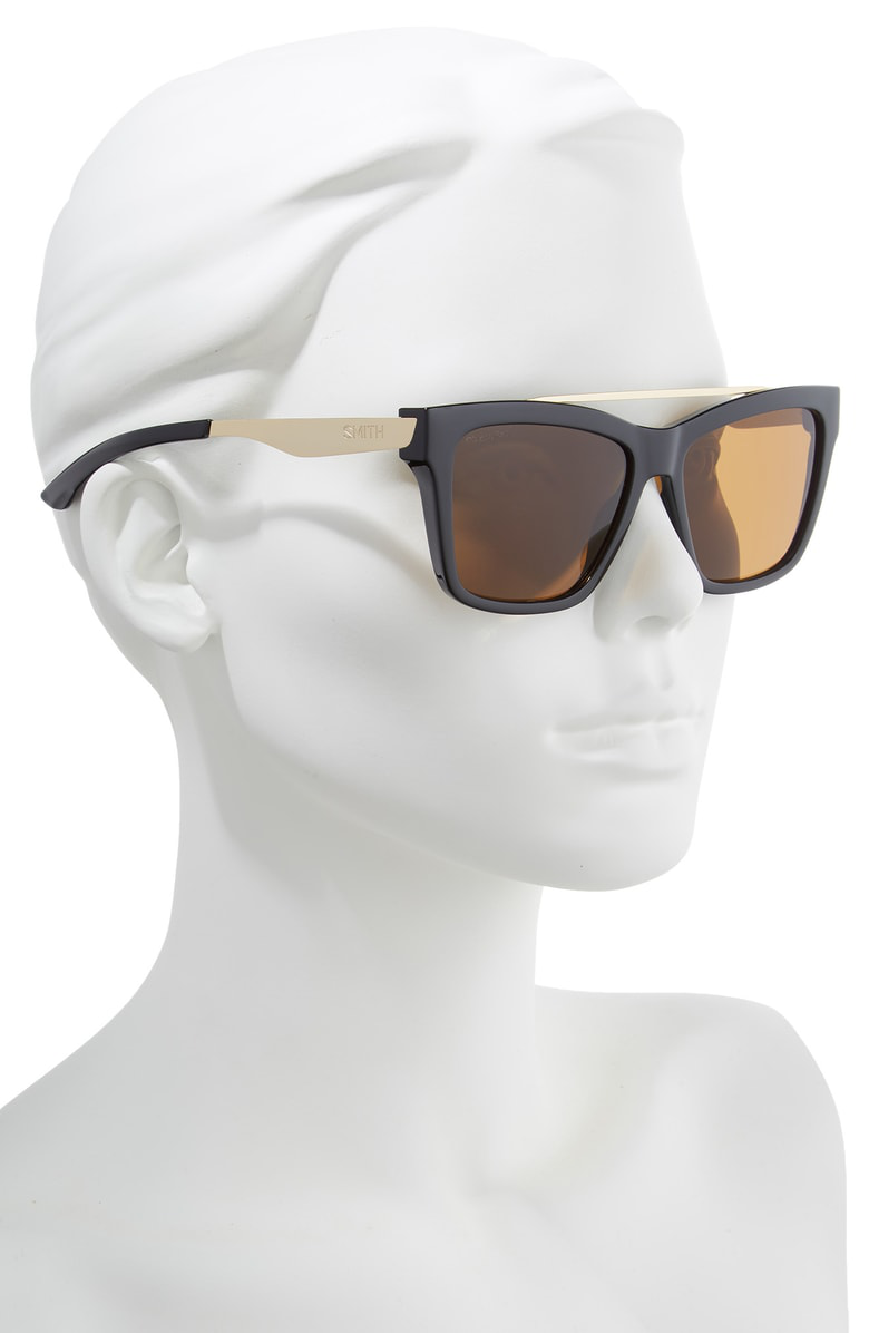 151d9e8d2c Smith The Runaround 55Mm Chromapop(Tm) Polarized Sunglasses - Black ...