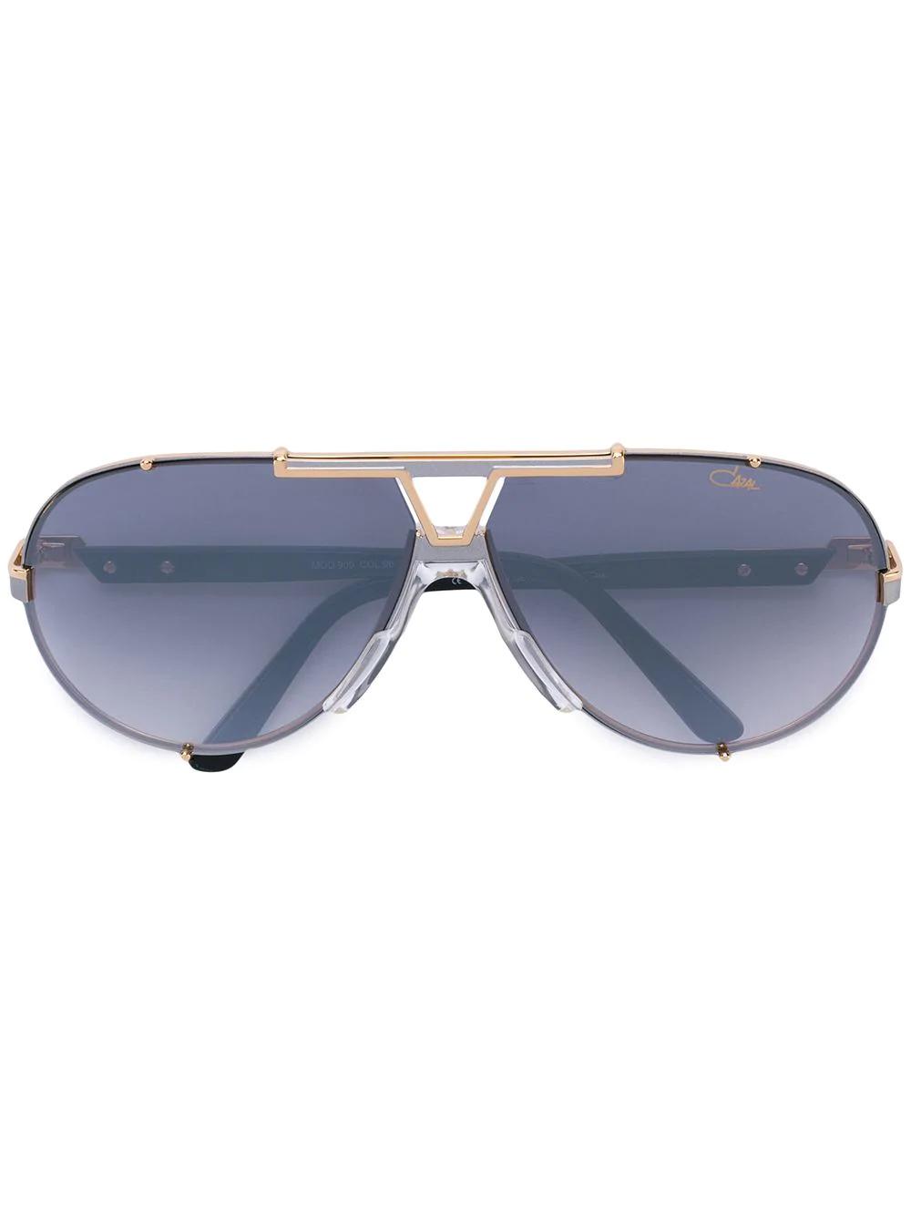 c599283eb0c2 Cazal Gradient Aviator Sunglasses - Metallic | ModeSens