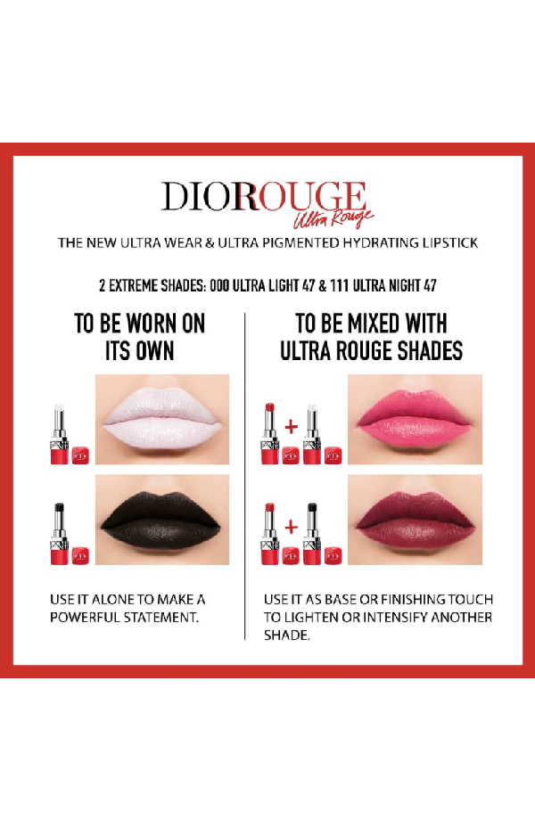 DIOR ULTRA ROUGE PIGMENTED HYDRA LIPSTICK - 111 ULTRA NIGHT 47,C003800971