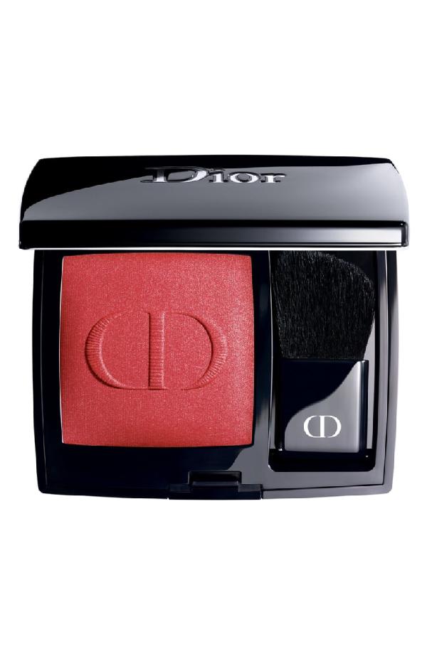 Dior Rouge Blush Long-Wear Powder Blush In 999