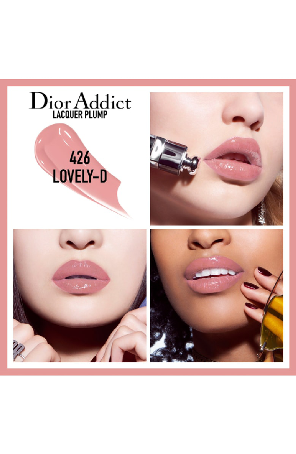 Dior Addict Lacquer Lip Plumping Ink In 538  Glitz / Glitter