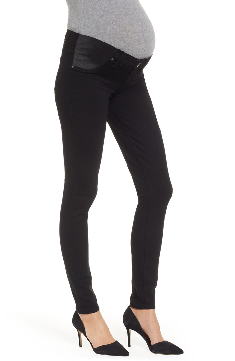Denim Black Maternity Jeans Shadow Verdugo In Skinny dWrCBexo