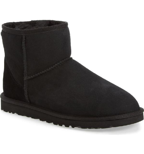 7adac52872a Men's Suede Classic Mini Boots in Black