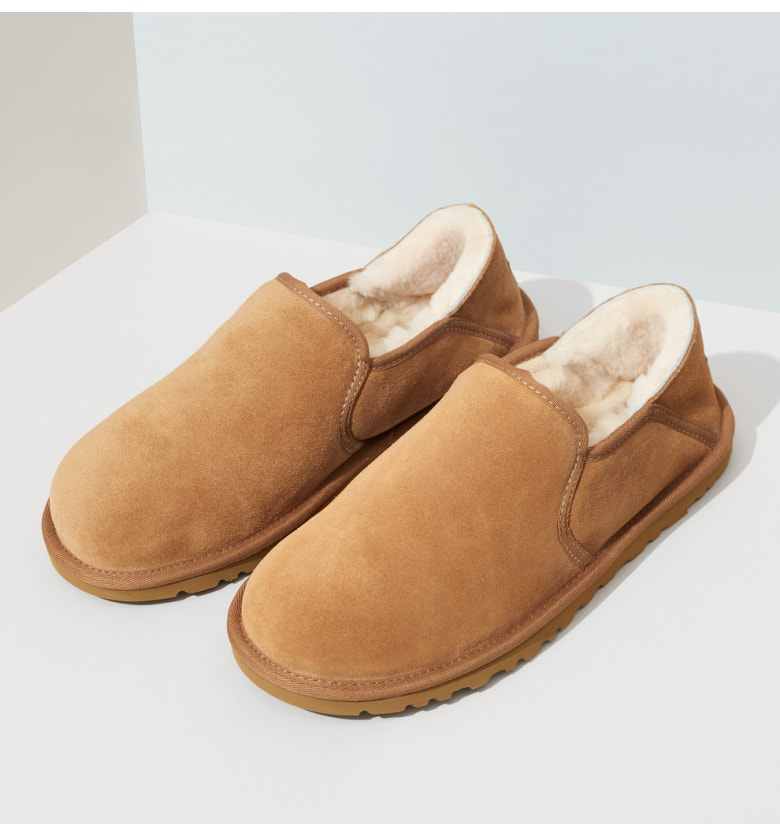 d2f7466c50c Men's Kenton Shearling Slippers in Chestnut