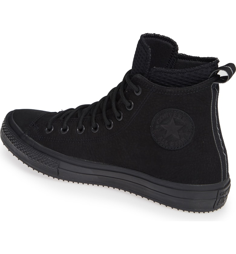 bcdbb1a6616c Converse Chuck Taylor All Star Counter Climate Waterproof Sneaker In Black   Black  Black