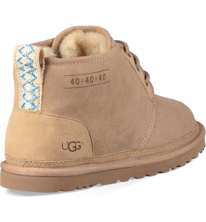 8faa9669156 Ugg Neumel 40 40 40 Anniversary Genuine Shearling Boot In Sand ...
