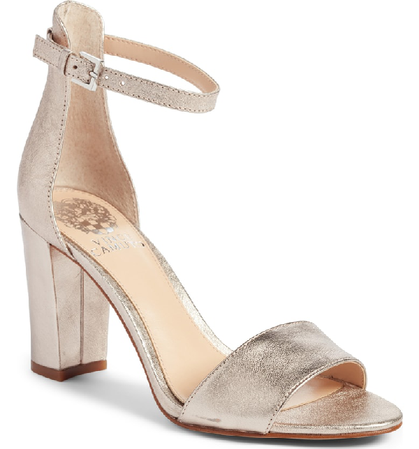 049c5ccc2d12 Vince Camuto Corlina Ankle Strap Sandal In Fancy Flamingo Suede ...