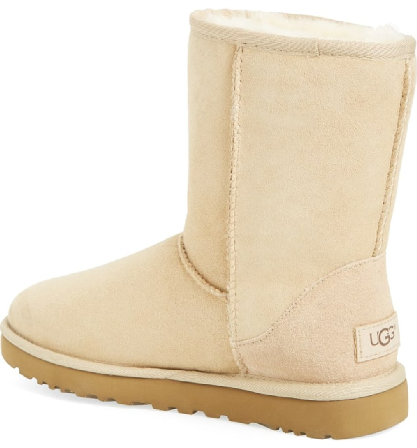 ea08e7b3d4f Women's Classic Ii Genuine Shearling Lined Short Boots in Sand