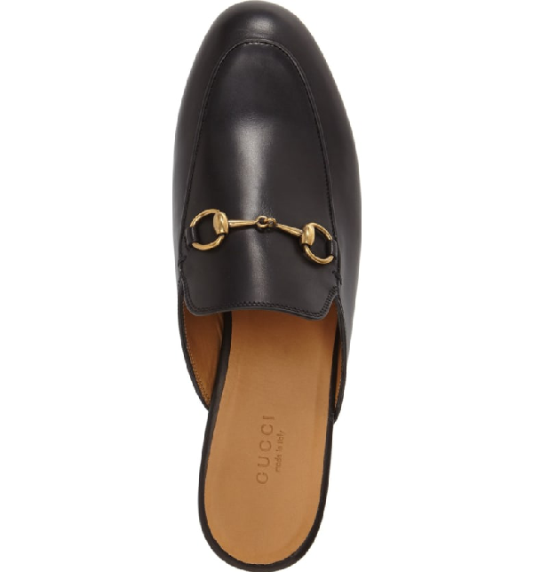 936e0796e24 Gucci Princetown Leather Horsebit Mule Slipper Flats