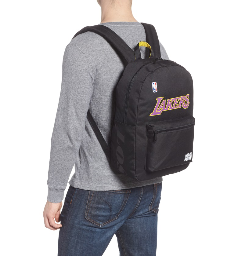 d43da28ee6ce Herschel Supply Co. Superfan Settlement Nba Backpack In Los Angeles Lakers
