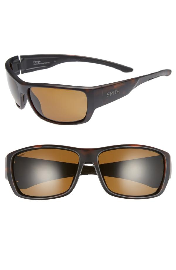 10ac05c99d Smith Crusader 53Mm Chromapop(Tm) Polarized Round Sunglasses - Matte  Tortoise  Grey Green
