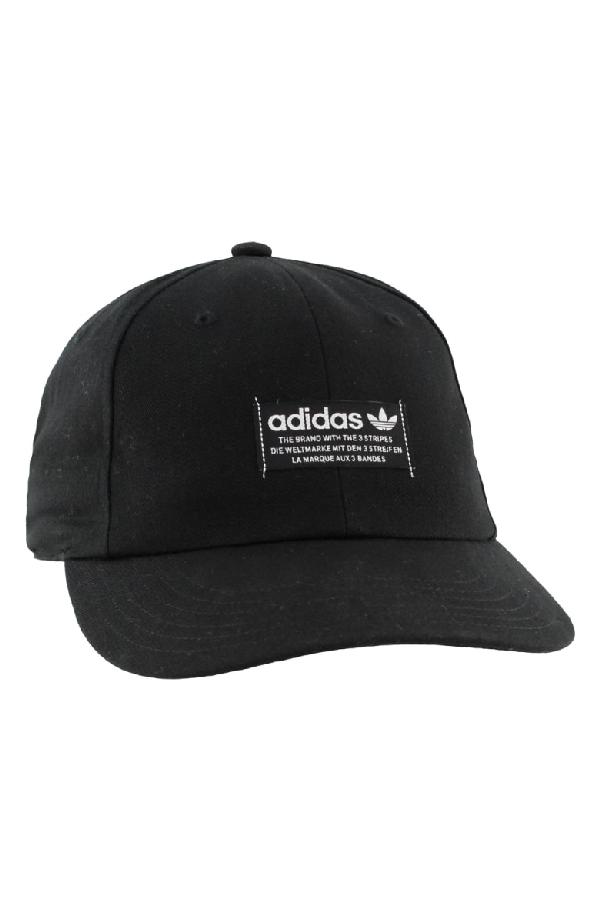 3eba710e462 Adidas Originals Adidas Original Relaxed Patch Ball Cap - Black ...