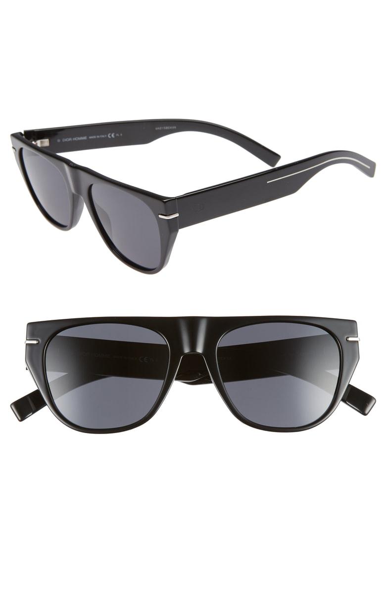 555e243f3f2e Dior Men s Flat-Top Acetate Sunglasses In Black