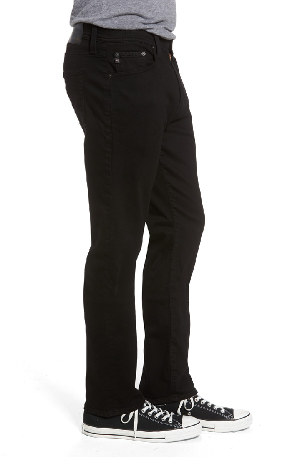 39d2f86d829f2 Ag  Graduate  Tailored Straight Leg Corduroy Pants In Sulfur True Black