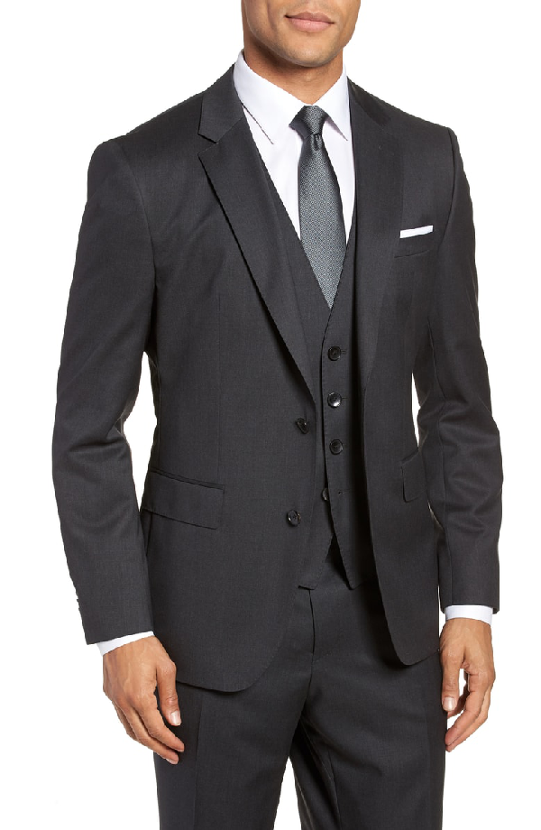 6f2ff3c12 Hugo Boss Boss Men's Regular/Classic-Fit Super 120 Italian Virgin Wool  Sport Coat