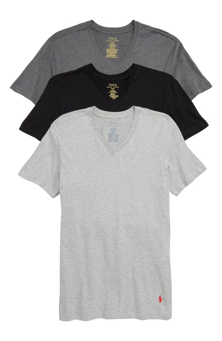 UndershirtSlim Cotton Neck Classic Pack V Blackgrey In Men's Fit 3 SMpGLUqzV