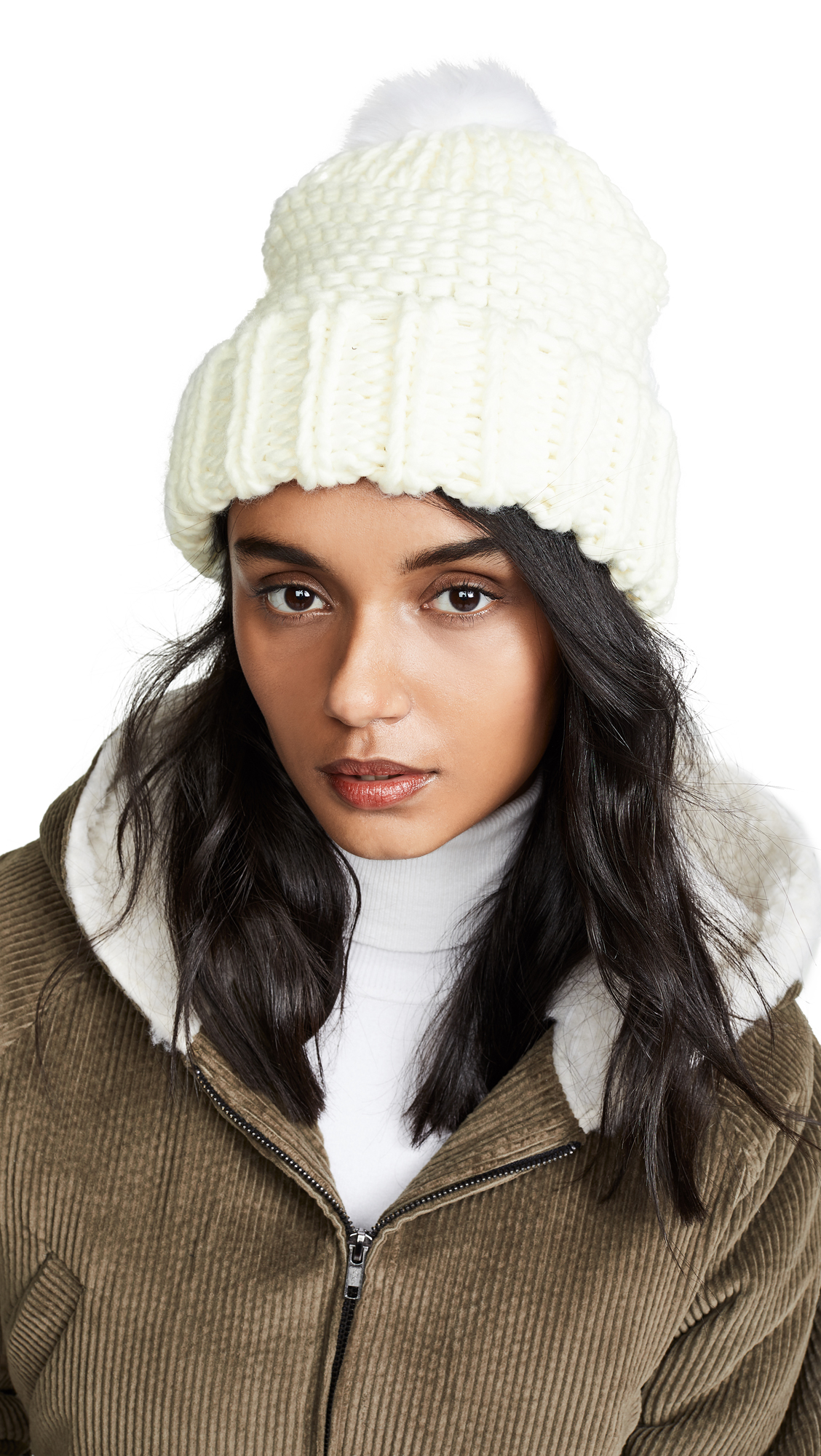 72a0c07f54ba1 Free People Skyline Beanie Hat In Ivory