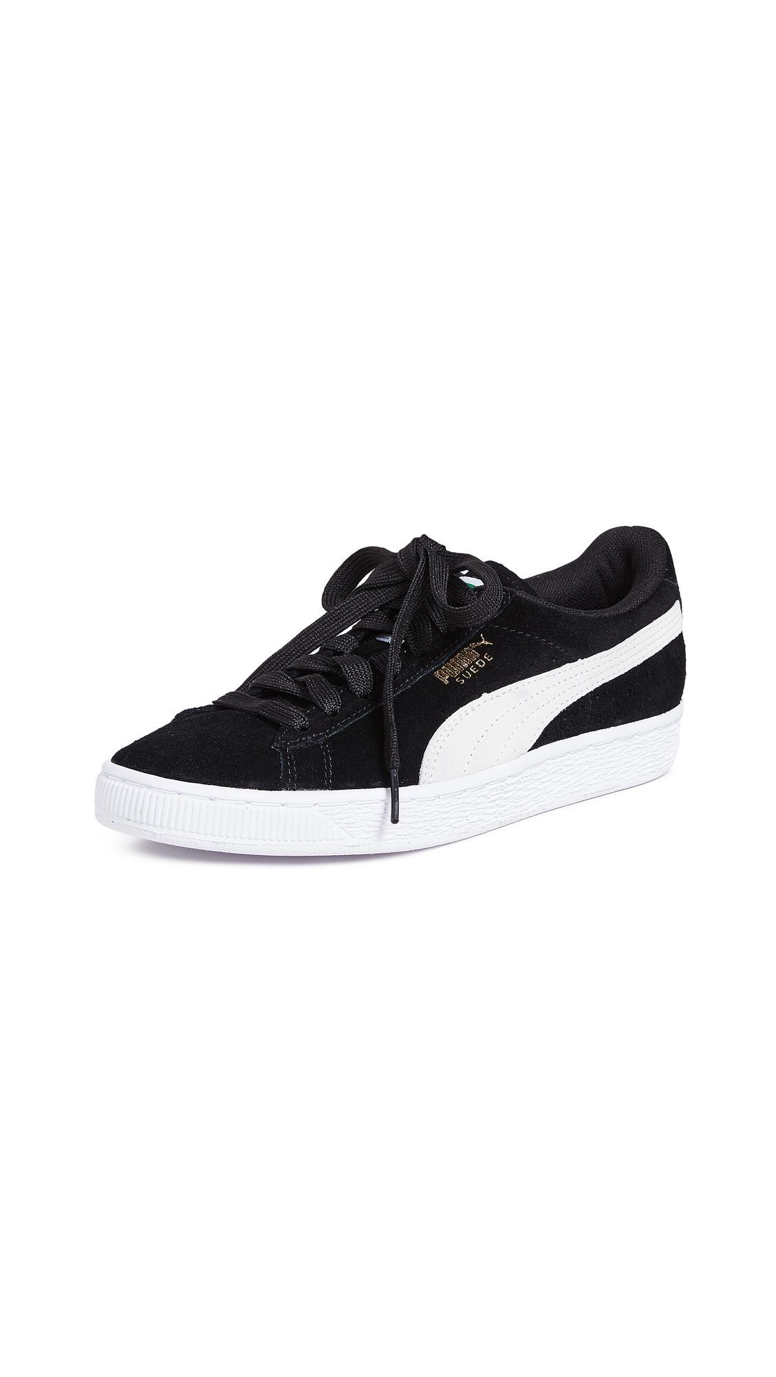 cd5968fb7e7 Puma Suede Classic Sneakers In Black | ModeSens