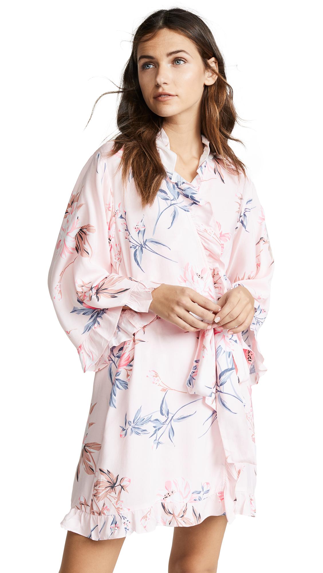 Yumi Kim Night Cap Robe In Secret Admirer Blush Modesens